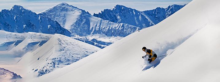 Skiing Colorado's Summit County- Skiing