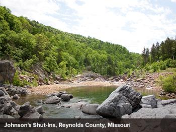 Johnsons Shut-ins, Reynolds County, Missouri